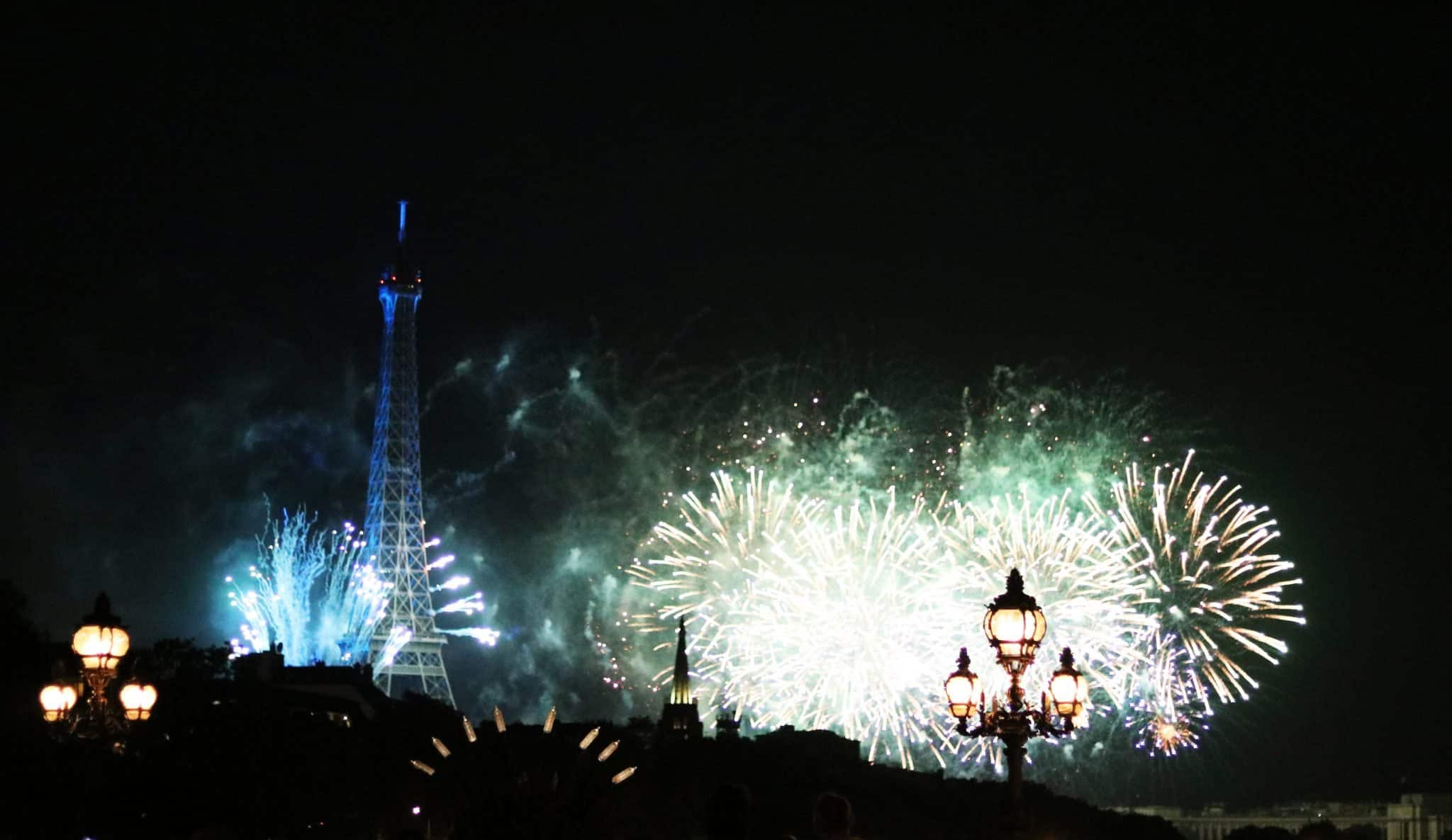 Fireworks in Paris