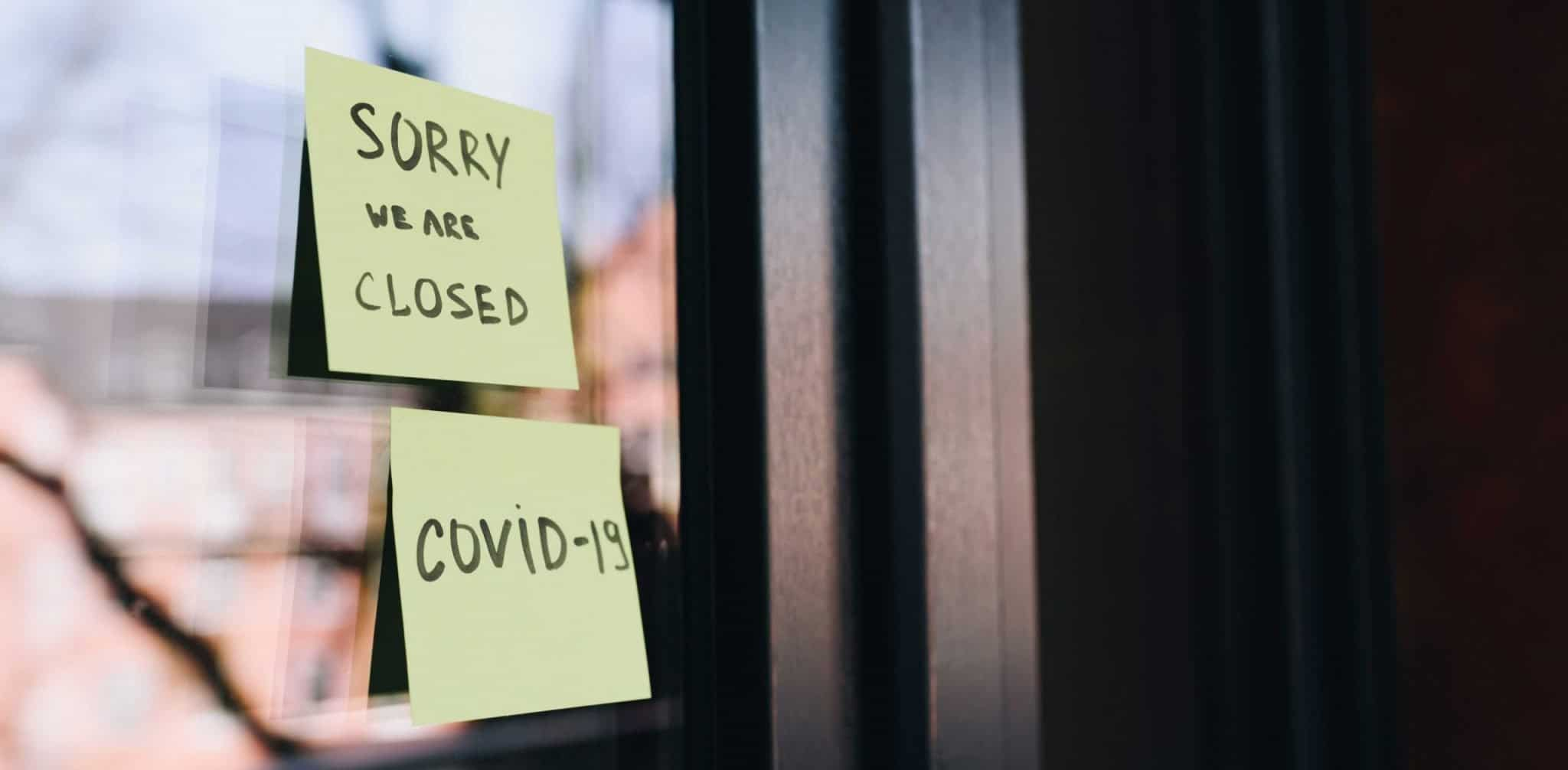 Pof a business closed due to Covid-19